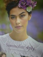 ROWAN  SUMMERLITE 4 ply  KNITTING PATTERN BOOK - Martin Storey